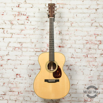 Martin OM-28e Acoustic/Electric Guitar Natural x7771