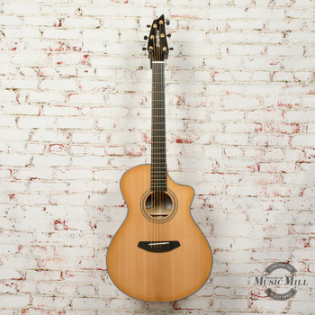 Breedlove Organic Arista Concert Natural Shadow CE Acoustic/Electric Guitar x7739