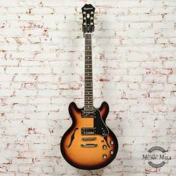 Epiphone ES-339 Pro Hollowbody Electric Guitar Tobacco Sunburst (USED) x1060