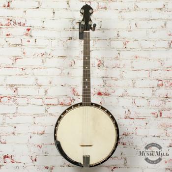 Vintage 1920s Vega Tenor Banjo w/HSC (USED) x7637