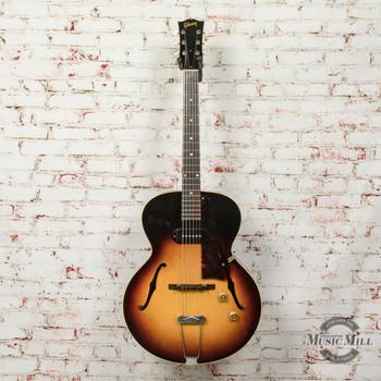 Vintage 1958 Gibson ES-125 Hollowbody Electric Guitar Sunburst (USED) x4701