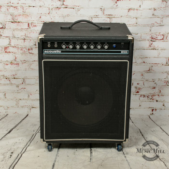 Acoustic B100 Bass Combo Amp (USED) x0172