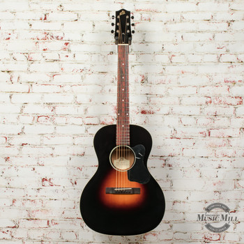 Loar Flat Top L-00 Body Acoustic Guitar Vintage Sunburst (USED) x1268