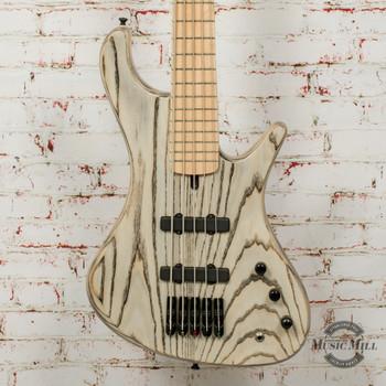 MG Bass Viking Dyed Standard 5-String Bass Gray w/Bag