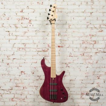 MG Bass Viking Purpleheart Standard 4-String Bass w/Bag
