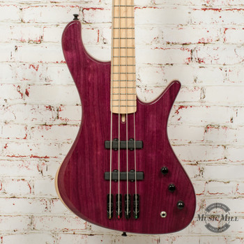 MG Bass Viking Purpleheart Standard 4-String Bass w/Bag
