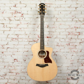 Taylor 214ce-BL Limited Edition Black Limba/Spruce Acoustic/Electric Guitar Natural x0170