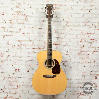 Martin M-36 Standard Series Slim Body Acoustic/Electric Guitar Natural x3278