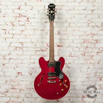 Epiphone Dot Cherry Semi-hollow Electric Guitar x5854