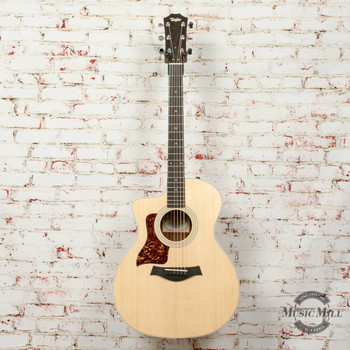 Taylor 214ce-K Koa Grand Auditorium Acoustic/Electric Guitar Natural x0296