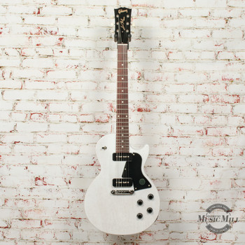 Gibson Les Paul Special Tribute P-90 Electric Guitar Worn White x0147