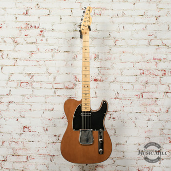 Vintage 1975 Fender Telecaster Electric Guitar Mocha/Walnut (USED) x5597