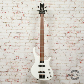 Epiphone EBD4AWBH1 Toby Standard-IV Electric Bass, Alpine White Finish