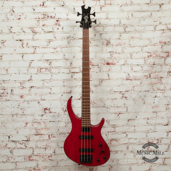 Epiphone Toby Deluxe-IV Bass Electric Bass Trans Red x0360
