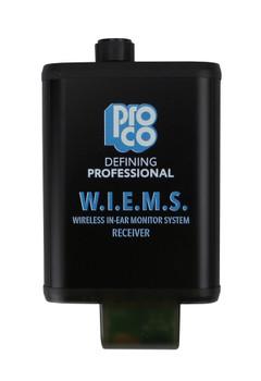 Pro Co WIEMS Wireless In-Ear Monitor System