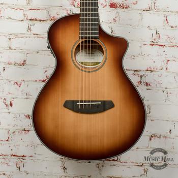 Breedlove Discovery Companion Sunburst CE Sitka-Mahogany Acoustic/Electric Guitar x6848