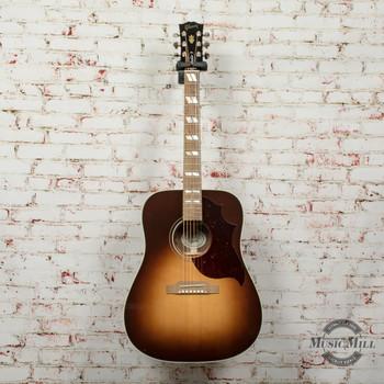 Gibson Hummingbird Studio Walnut Burst Acoustic Electric Guitar Walnut Burst x0056