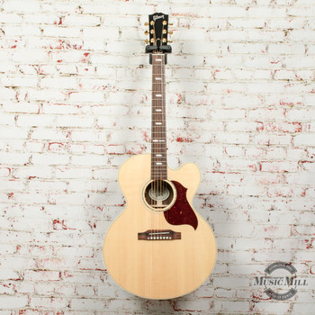 Gibson J-185 EC Modern Rosewood Acoustic/Electric Guitar Antique Natural x0061
