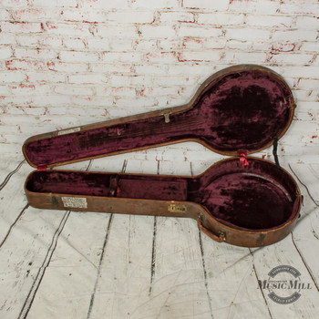 Vintage Lifton 50's Banjo Case (USED) x7773