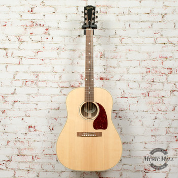 Gibson J-15 Standard Walnut Acoustic/Electric Guitar Antique Natural x0030