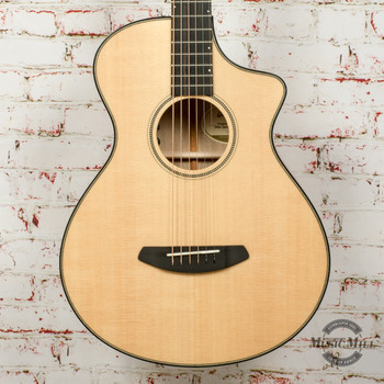 Breedlove Oregon Concertina CE Acoustic/Electric Guitar Sitka-Myrtlewood Natural x5379