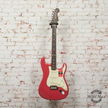 Fender 2019 Limited Edition American Professional Stratocaster® Electric Guitar, Solid Rosewood Neck, Fiesta Red x9604