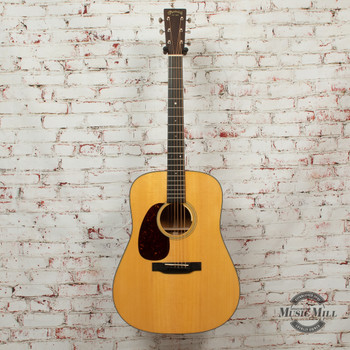 Martin D18E Left-Handed Acoustic/Electric Guitar Natural x3418