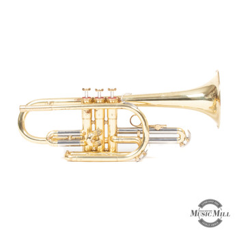 Conn Director Coronet Lacquered Brass (USED) x4556