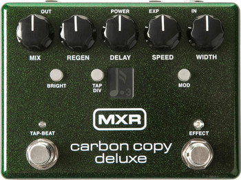 MXR Carbon Copy Deluxe Analog Delay Guitar Effects Pedal (M292)