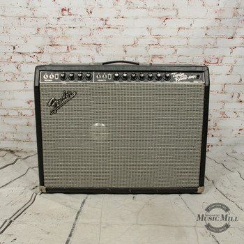 """Modified Vintage Fender Twin Reverb Guitar Combo Amp w/15"""" Speaker x928 (USED)"""