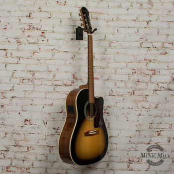 Epiphone AJ-210CE Acoustic/Electric Guitar Vintage Sunburst x4092