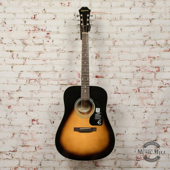Epiphone FT-100 Acoustic Guitar Vintage Sunburst (USED) x0717