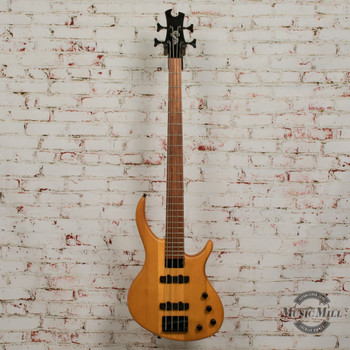 Epiphone Tobias Toby Deluxe-IV Bass Guitar Transparent Amber x3065