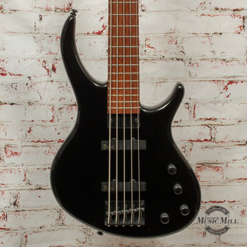 Epiphone Toby Deluxe-V Bass Guitar Ebony x2762