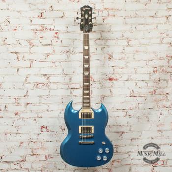 Epiphone SG Muse Electric Guitar Radio Blue Metallic x1818