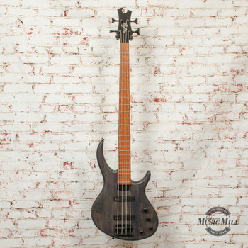 Epiphone Toby Deluxe-IV Bass Guitar Transparent Black x2531