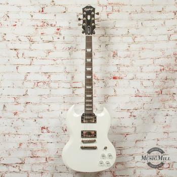 Epiphone SG Muse Electric Guitar Pearl White Metallic x0685