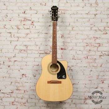 Epiphone AJ-100ce Acoustic/Electric Guitar Natural x6594