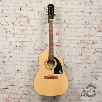 Epiphone AJ-100ce Acoustic/Electric Guitar x6578