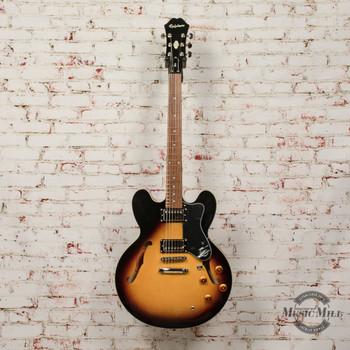 Epiphone Dot ES-335 Semi-Hollowbody Electric Guitar Vintage Sunburst x4403