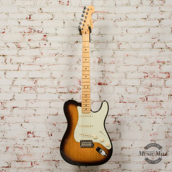 2017 Fender Parrallel Universe Strat/Tele with Locking Tuners, 2-Tone Sunburst, OHSC x2985 (USED)