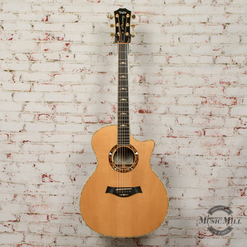 2004 Taylor 914ce 30th Anniversary Grand Auditorium Acoustic Electric Guitar Natural x4138 (USED)
