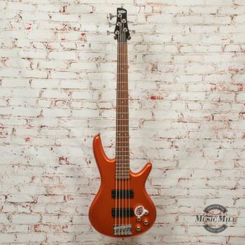 Ibanez GSR205ROM Roadster 5-String Bass Guitar Orange Metallic x9426