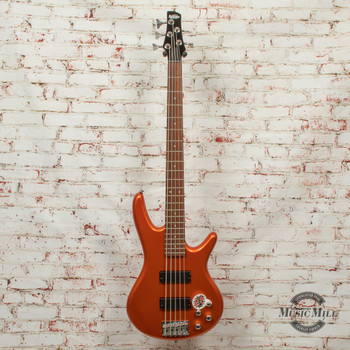 Ibanez GSR205ROM Roadster 5-String Bass Guitar Orange Metallic x9426