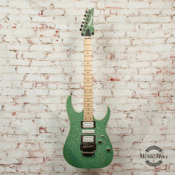 Ibanez Standard RG470MSP Electric Guitar Turquoise Sparkle x1668