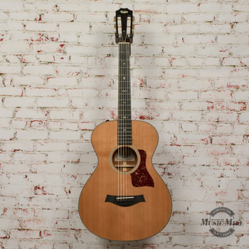 2016 Taylor 512e 12-Fret Acoustic Electric Guitar Natural w/OHSC x6016 (USED)