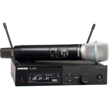 Shure SLXD24/B87A Digital Wireless Handheld Microphone System w/Beta 87A Capsule