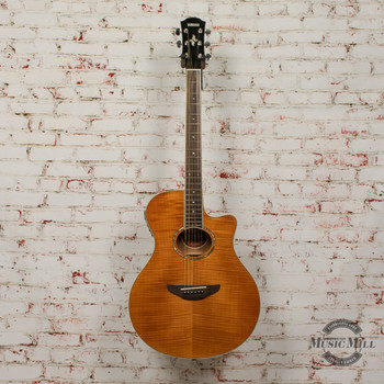 Yamaha APX600FM-AM Acoustic/Electric Guitar Flamed Maple Natural x7543
