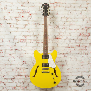 Ibanez Artcore Vibrante AS63 Hollowbody Electric Guitar Lemon Yellow x022S