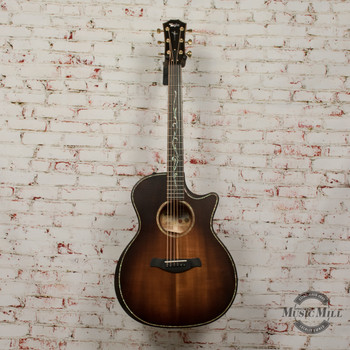 Taylor Builder's Edition K24ce Acoustic Electric Guitar Shaded Edgeburst x0043